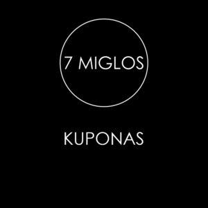 Kuponas 7 miglos
