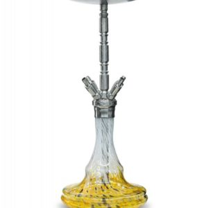 WD Hookah G30-2 Zagreb - White Yellow