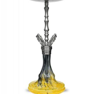 WD Hookah V3.0 Miami - Black Yellow 7 Miglos.lt
