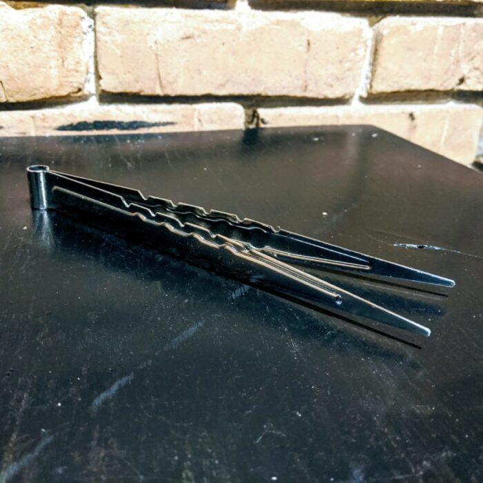 Žnyplės kaljano anglims 20 cm plieninės
