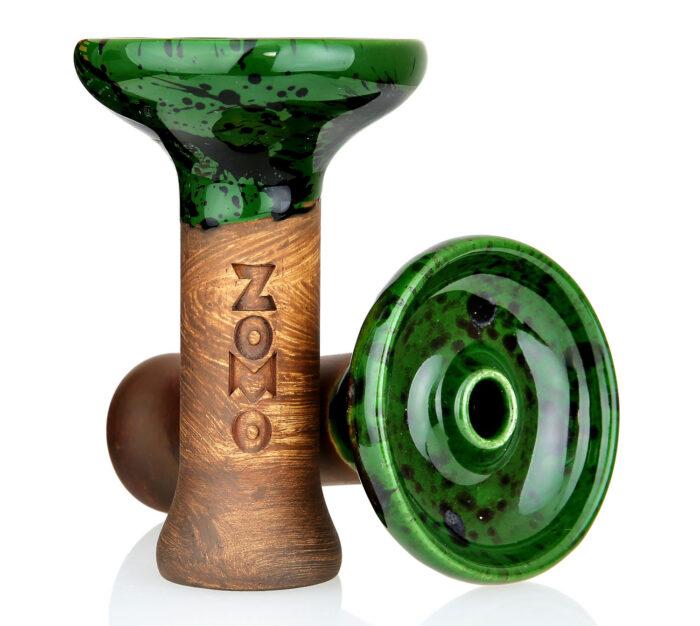 Kaljano taurelė Oblako M Zomo Edition Glazed Amazonas- tai išskirtinio dizaino