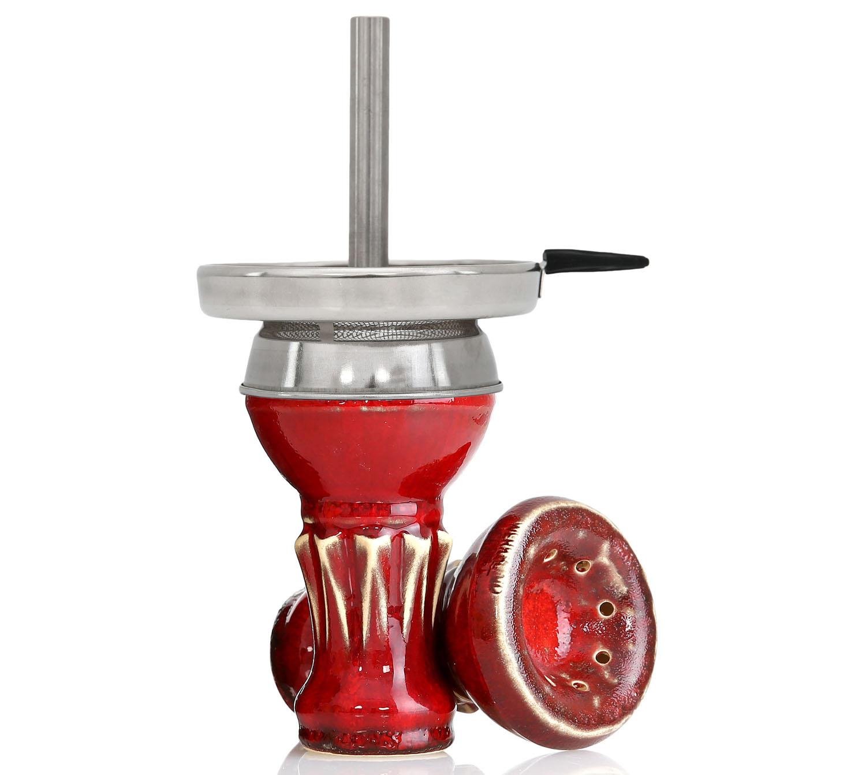 Kaljano taurelė Werkbund Hookah Egoist Red Lava su kaminėliu- tai išskirtinio dizaino