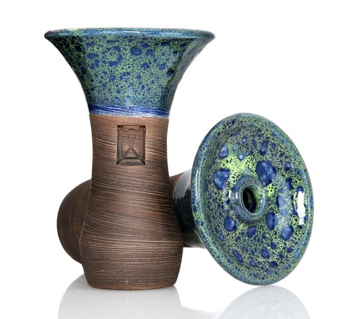Kaljano taurelė Werkbund Hookah Evo Coral Blue Green - tai išskirtinio dizaino