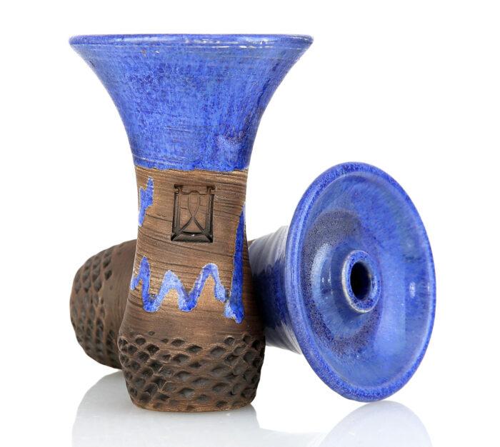 Kaljano taurelė Werkbund Hookah Evo Deep Crazy Blue - tai išskirtinio dizaino