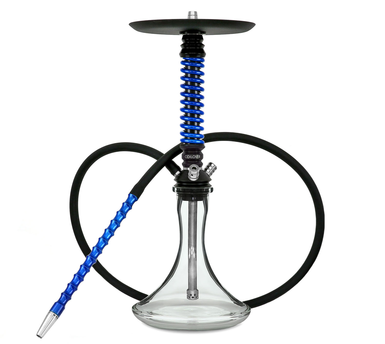 mamay-customs-coilover-mini-black-sky-blue-shisha kaljanas 7 miglos