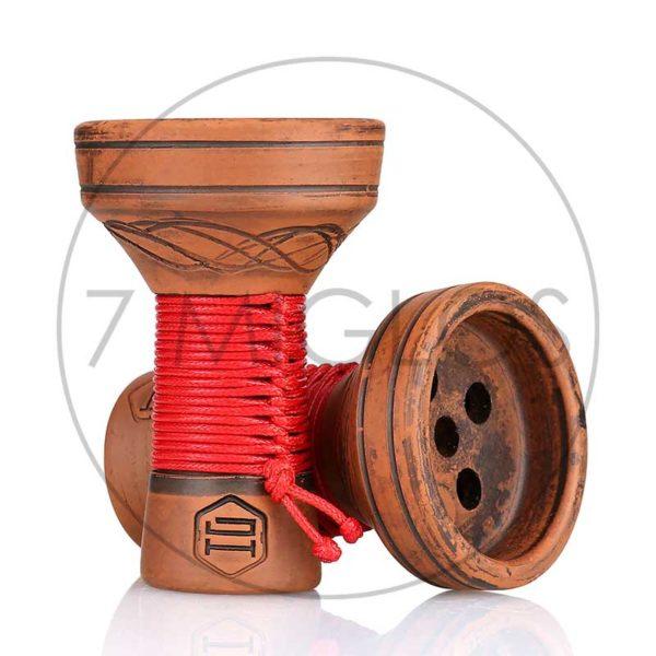 taurelė japona-hookah-killer-bowl raudona