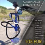 Hookah Set Aladin Alux Model 1 Blue