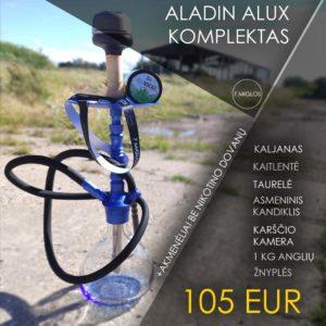 Hookah Set Aladin Alux Model 1 Blue