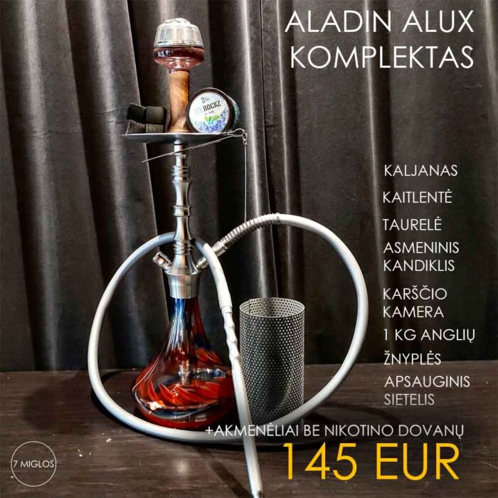 Hookah Set Aladin Alux Model 2