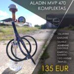 Aladin MVP 470 kaljano komplektas