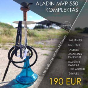Aladin MVP 550 kaljano komplektas