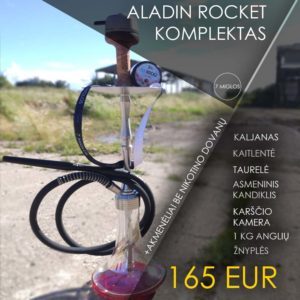 Aladin Rocket kaljano komplektas