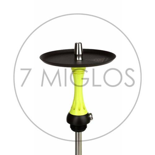Hookah Alpha Hookah X-Yellow plate 7 Miglos