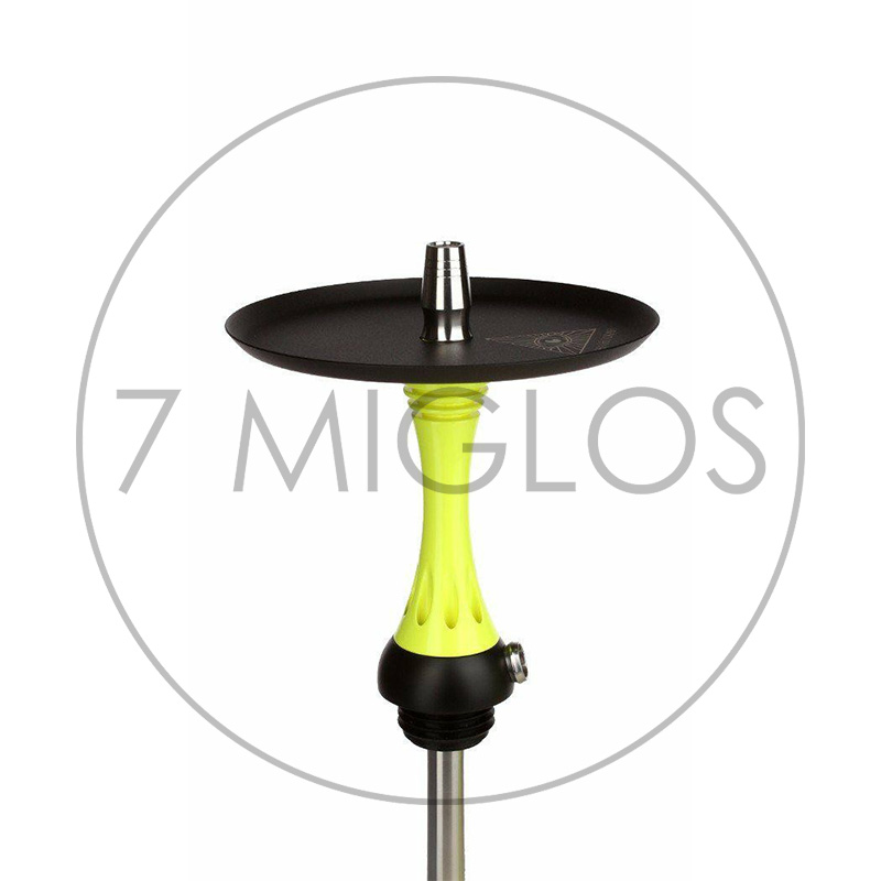 Kaljanas alpha-hookah-x-yellow lekstute 7 Miglos
