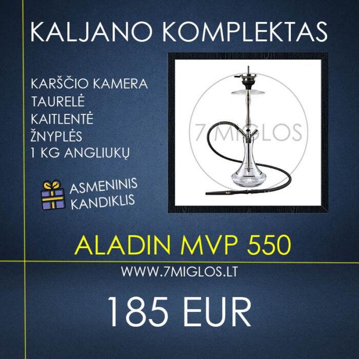 Kaljano komplektas Aladin MVP 550