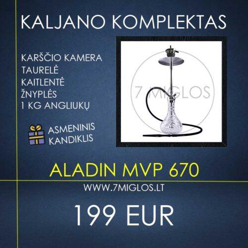 Kaljano komplektas Aladin MVP 670