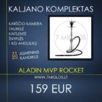Kaljano komplektas Aladin MVP Rocket
