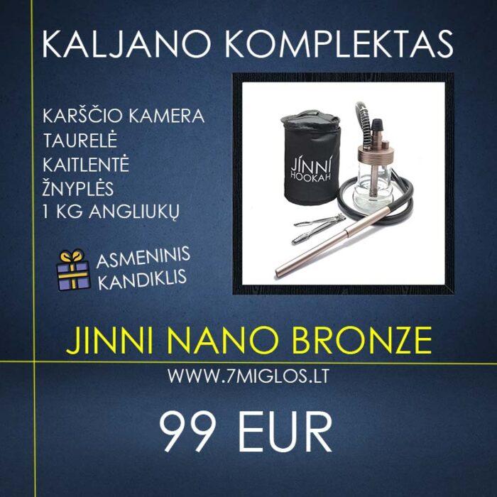 Hookah Set JINNI Nano Bronze