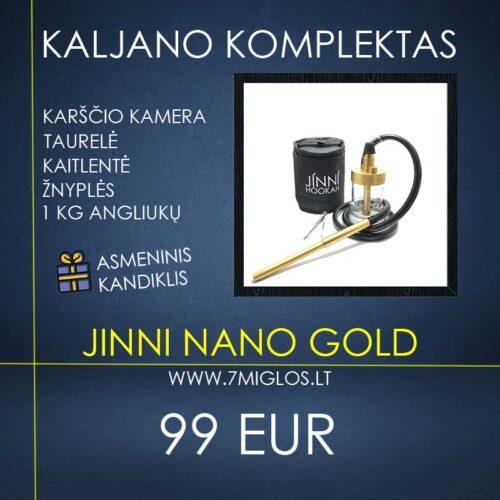 Kaljano komplektas JINNI Nano Gold