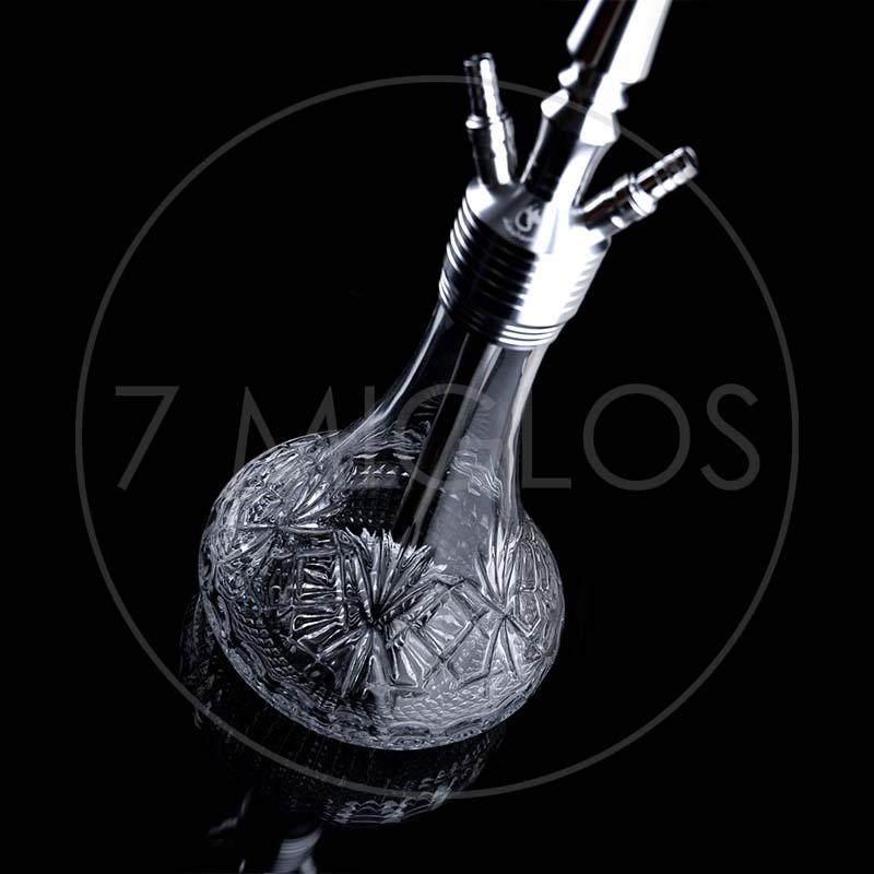 Kaljanas Dschinni Drip Crystal Silver 2 7 Miglos