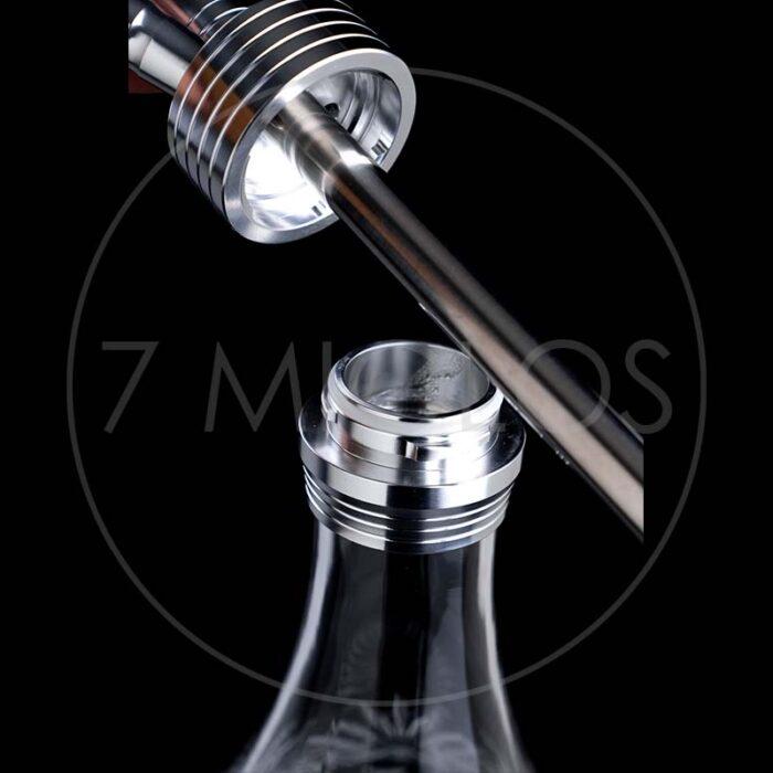 Kaljanas Dschinni Drip Crystal Silver 5 7 Miglos