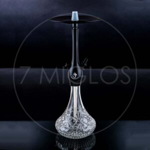 Hookah Dschinni Jinni hookah Chucky Black Clear Crystal 7 miglos shop