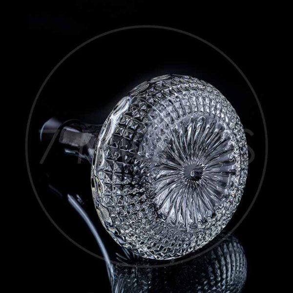 Kaljanas Dschinni Jinni hookah Chucky Black Clear Crystal 7 miglos shop Lietuva