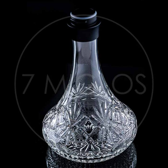 Hookah Dschinni Jinni hookah Chucky Black Clear Crystal 7 miglos shop online
