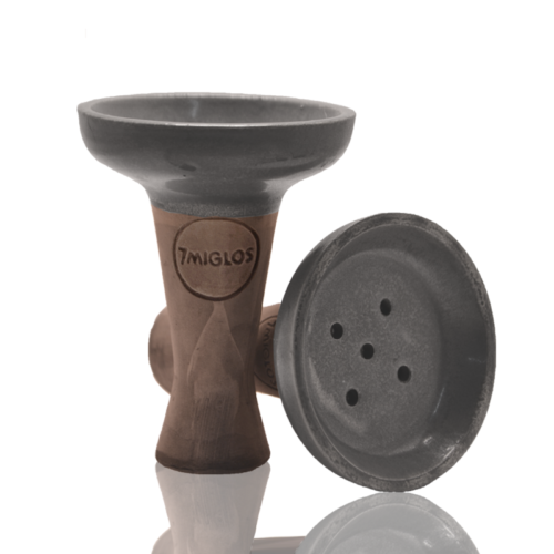 Hookah bowl 7 Miglos Gray Deep