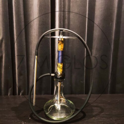 Kaljanas Geometry Hookah Little Bro Woody Epox Blue