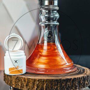 Kaljano Oranžiniai blizgučiai Xschischa 7 Miglos