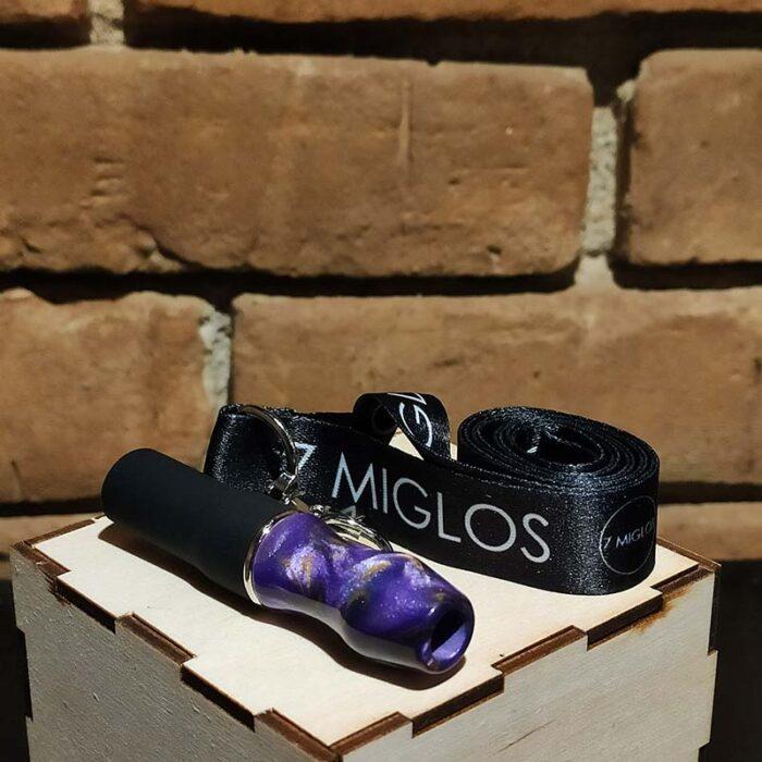Kaljano kandiklis 7 Miglos violetinis